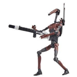 [Star Wars: The Force Unleashed: Black Series Gaming Greats Action Figure: Heavy Battle Droid (Product Image)]
