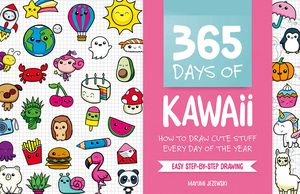 [365 Days Of Kawaii: How To Draw Cute Stuff Every Day Of The Year (Product Image)]