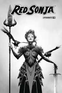 [Red Sonja #15 (Lee B&W Variant) (Product Image)]