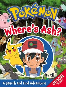 [Pokémon: Where's Ash?: A Search & Find Adventure (Product Image)]