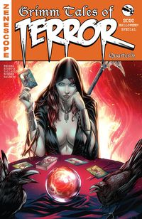 [The cover for Tales Of Terror Quarterly: 2020 Halloween Special #1 (Cover A Vi)]