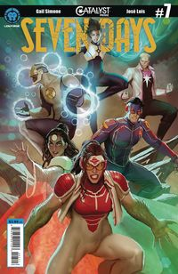 [The cover for Catalyst Prime: Seven Days #7 (Cover A Sejic)]