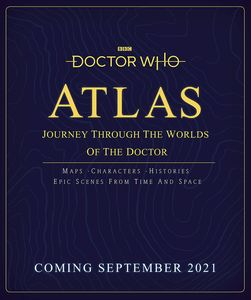 [Doctor Who: Atlas: Journey Through The Worlds Of The Doctor (Hard Cover) (Product Image)]
