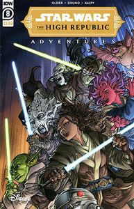 [Star Wars: High Republic Adventures #8 (Cover A Tolibao) (Product Image)]