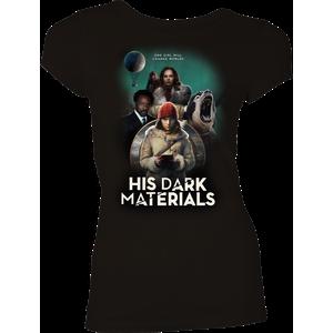 [His Dark Materials: Women's Fit T-Shirt: Lyra's World (Product Image)]