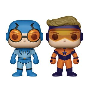 [DC: Pop! Vinyl Figure: Booster Gold & Blue Beetle 2-Pack (Product Image)]