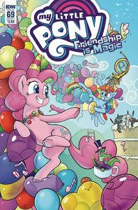 [My Little Pony: Friendship Is Magic #69 (Cover A Kuusisto) (Product Image)]