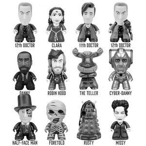 [Doctor Who: TITANS: 12th Doctor: Rebel Time Lord Collection (Complete Display) (Product Image)]