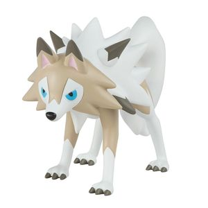 [Pokemon: Battle Action Figure: Lycanroc Midday Form (Product Image)]