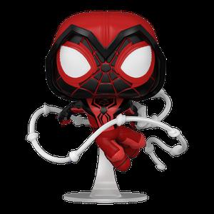 [Marvel's Spider-Man: Miles Morales: Pop! Vinyl Figure: Miles Morales Crimson Cowl Suit (Product Image)]