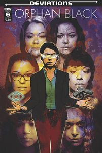 [Orphan Black: Deviations #6 (Cover A Staggs) (Product Image)]