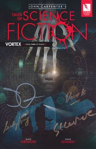 [John Carpenter's Tales Of Science Fiction: Vortex #1 (Signed - With John Carpenter & Sandy King) (Product Image)]