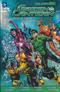 [Green Lantern: Rise Of The Third Army (Hardcover) (Product Image)]