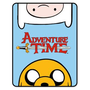[Adventure Time: Fleece Blanket: Finn & Jake (Product Image)]