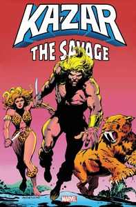 [Ka-Zar Savage: Omnibus (Anderson First Issue Cover Hardcover) (Product Image)]