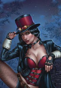 [Van Helsing Vs Robyn Hood #2 (Cover C Santacruz) (Product Image)]