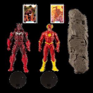 [DC Multiverse Action Figure 2-Pack: Earth-52 Batman Vs. Flash (Product Image)]