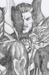 [Strange Academy #3 (Ross Dr Strange Timeless Virgin Sketch Variant) (Product Image)]