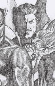 [Strange Academy #3 (Ross Dr Strange Timeless Virgin Sketch Variant) (Product Image)]