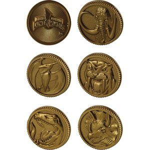 [Power Rangers: Legacy: Die Cast Power Coins (Product Image)]