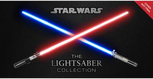 [Star Wars: The Lightsaber Collection (Hardcover) (Product Image)]