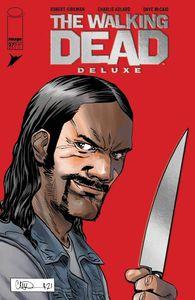[LCSD 2021: Walking Dead: Deluxe #27 (Cover G Adlard Foil Variant) (Product Image)]