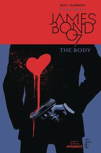 [James Bond: The Body #4 (Cover A Casalanguida) (Product Image)]