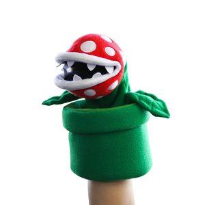 [Super Mario Bros: Hand Puppet: Piranha Plant (Product Image)]