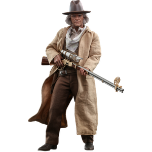 [Back To The Future 3: Hot Toys 1:6 Scale Action Figure: Doc Brown (Product Image)]