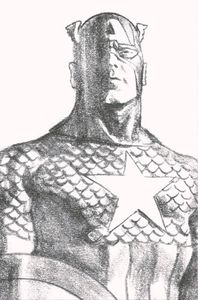 [Captain America #23 (Alex Ross Timeless Virgin Sketch Variant) (Product Image)]
