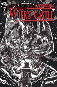 [Star Wars Adventures: Return To Vader's Castle #1 (Francavilla Black & White Variant) (Product Image)]