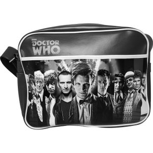 [Doctor Who: 50th Anniversary: Retro Bag: 11 Doctors (Product Image)]