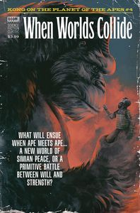 [Kong On Planet Of Apes #4 (Subscription Dalton Variant) (Product Image)]