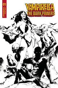 [Vampirella: Dark Powers #1 Lee Black & White Demons Variant) (Product Image)]
