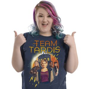 [Doctor Who: T-Shirt: Team TARDIS (Product Image)]