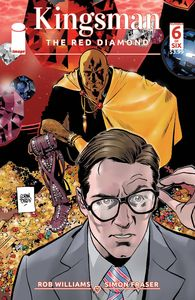 [Kingsman: Red Diamond #6 (Cover A Parlov) (Product Image)]