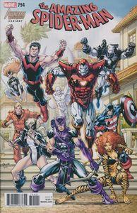 [Amazing Spider-Man #794 (Nauck Avengers Variant) (Legacy) (Product Image)]