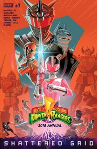 [Mighty Morphin Power Rangers: 2018 Annual #1 (Product Image)]