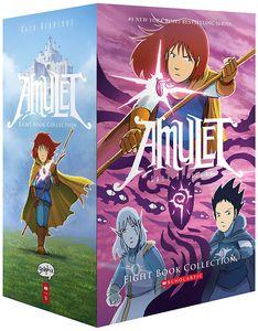[Amulet: Books 1-8 (Box Set) (Product Image)]