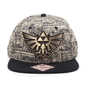 [Nintendo: Snap Back Cap: Zelda (Product Image)]
