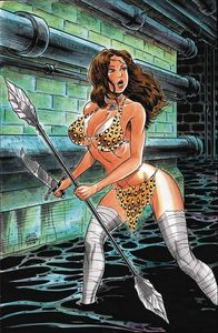 [Cavewoman: Leave My Man Alone #1 (Cover G Durham) (Product Image)]