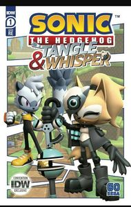 [Sonic The Hedgehog: Tangle & Whisper #1 (2020 Comic-Con@Home Exclusive) (Product Image)]