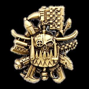 [Warhammer 40k: Artifact Pin Badge: Ork (Product Image)]