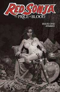 [Red Sonja: Price Of Blood (Suydam Black & White Variant) (Product Image)]