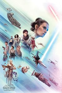 [Star Wars: The Rise Of Skywalker: Poster: Rey (Product Image)]