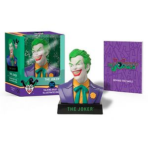 [The Joker: Talking Bust & Illustrated Book (Product Image)]