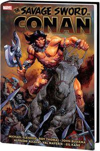 [The Savage Sword Of Conan: The Original Marvel Years: Omnibus: Volume 6 (Hardcover) (Product Image)]