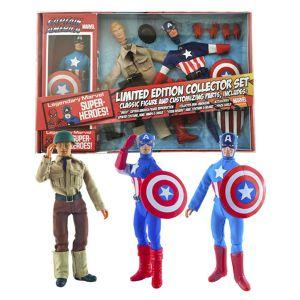 [Marvel: Retro Action Figure Set: Captain America (Product Image)]