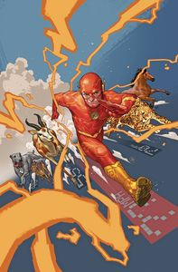[Flash #77 (Card Stock Variant Edition YOTV Dark Gifts) (Product Image)]