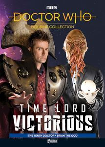 [Doctor Who: Time Lord Victorious: Figurine Collection Magazine #4: 10th Doctor & Brian The Ood (Product Image)]